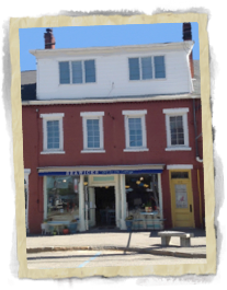 Comfort Found Literary Lodging Downtown Damariscotta Maine